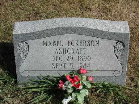 ASHCRAFT, MABEL - El Paso County, Colorado | MABEL ASHCRAFT - Colorado Gravestone Photos