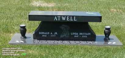 ATWELL, LINDA - El Paso County, Colorado | LINDA ATWELL - Colorado Gravestone Photos