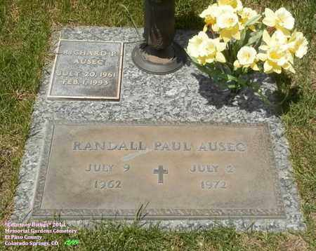 AUSEC, RANDALL PAUL - El Paso County, Colorado | RANDALL PAUL AUSEC - Colorado Gravestone Photos