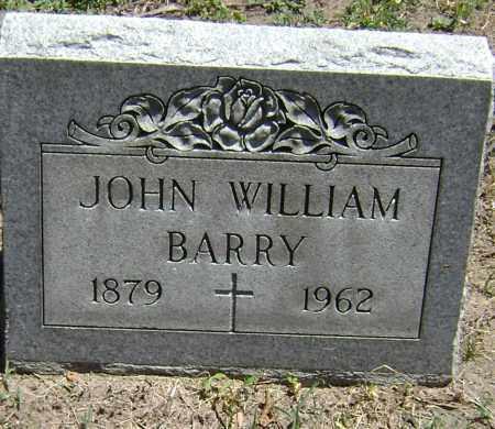 BARRY, JOHN WILLIAM - El Paso County, Colorado   JOHN WILLIAM BARRY - Colorado Gravestone Photos