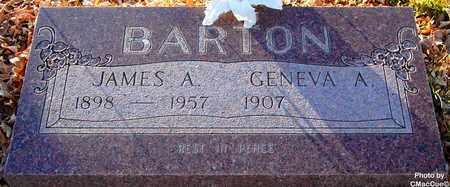 BARTON, JAMES A. - El Paso County, Colorado   JAMES A. BARTON - Colorado Gravestone Photos