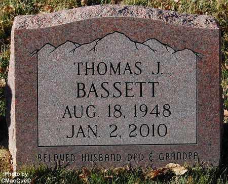 BASSETT, THOMAS J. - El Paso County, Colorado   THOMAS J. BASSETT - Colorado Gravestone Photos