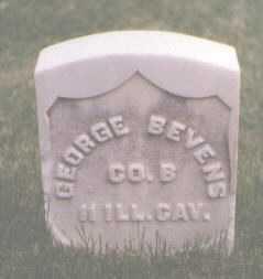 BEVENS, GEORGE - El Paso County, Colorado   GEORGE BEVENS - Colorado Gravestone Photos