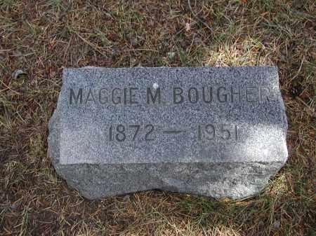 BOUGHER, MAGGIE M. - El Paso County, Colorado | MAGGIE M. BOUGHER - Colorado Gravestone Photos