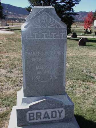BRADY, CHARLES A. - El Paso County, Colorado | CHARLES A. BRADY - Colorado Gravestone Photos