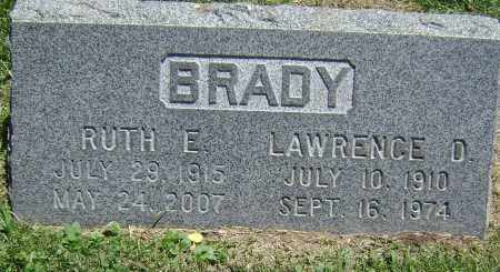BRADY, RUTH E - El Paso County, Colorado | RUTH E BRADY - Colorado Gravestone Photos
