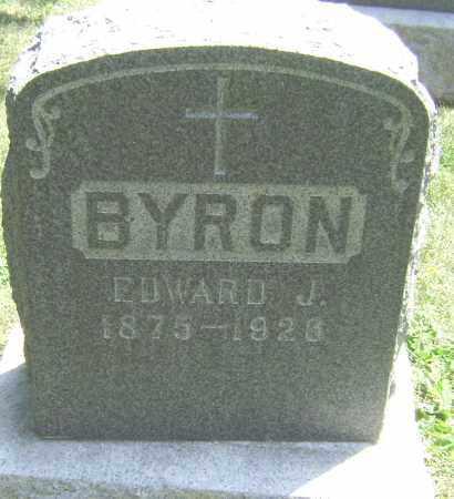 BYRON, EDWARD J - El Paso County, Colorado | EDWARD J BYRON - Colorado Gravestone Photos