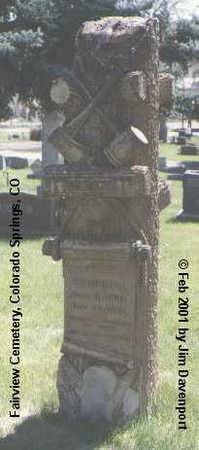CAMPBELL, CHARLES T. - El Paso County, Colorado | CHARLES T. CAMPBELL - Colorado Gravestone Photos