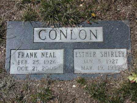 CONLON, FRANK - El Paso County, Colorado | FRANK CONLON - Colorado Gravestone Photos
