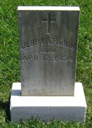 CRONIN, JERRY - El Paso County, Colorado | JERRY CRONIN - Colorado Gravestone Photos