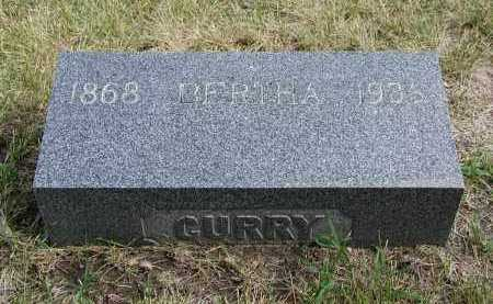 CURRY, BERTHA - El Paso County, Colorado | BERTHA CURRY - Colorado Gravestone Photos