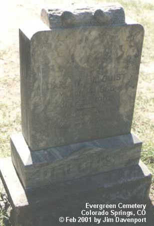 DAHLQUIST, CARL W. - El Paso County, Colorado | CARL W. DAHLQUIST - Colorado Gravestone Photos
