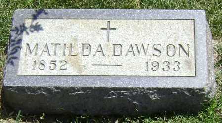 DAWSON, MATILDA - El Paso County, Colorado | MATILDA DAWSON - Colorado Gravestone Photos