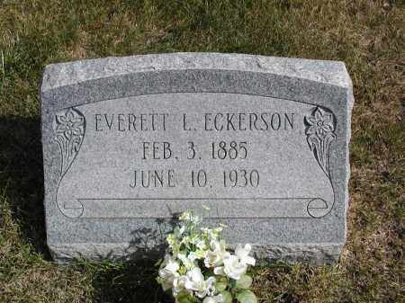 ECKERSON, EVERETT L. - El Paso County, Colorado | EVERETT L. ECKERSON - Colorado Gravestone Photos