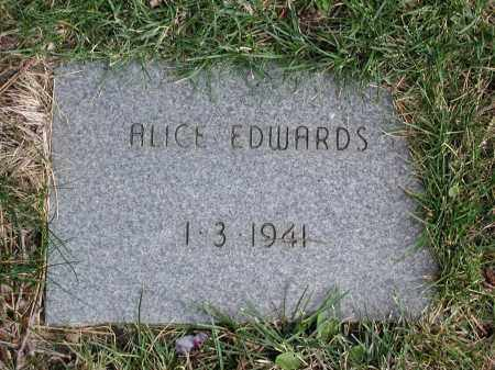 EDWARDS, ALICE - El Paso County, Colorado | ALICE EDWARDS - Colorado Gravestone Photos