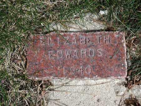 EDWARDS, ELIZABETH - El Paso County, Colorado | ELIZABETH EDWARDS - Colorado Gravestone Photos