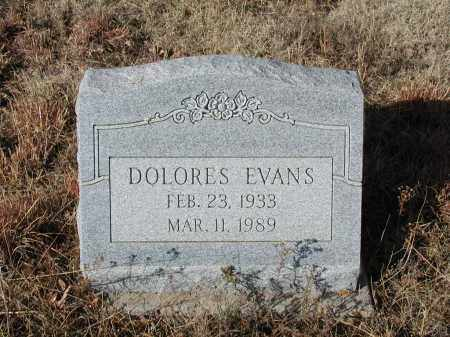 EVANS, DOLORES - El Paso County, Colorado | DOLORES EVANS - Colorado Gravestone Photos