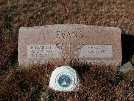 EVANS, EDWARD C. - El Paso County, Colorado | EDWARD C. EVANS - Colorado Gravestone Photos