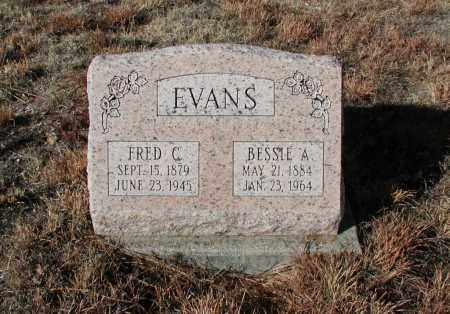 EVANS, FRED C. - El Paso County, Colorado | FRED C. EVANS - Colorado Gravestone Photos