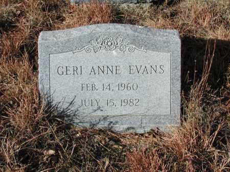 EVANS, GERI ANNE - El Paso County, Colorado | GERI ANNE EVANS - Colorado Gravestone Photos