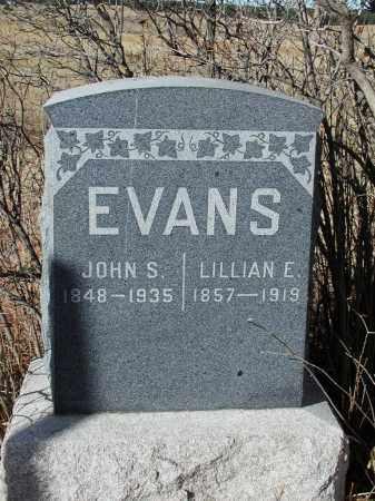EVANS, LILLIAN E. - El Paso County, Colorado   LILLIAN E. EVANS - Colorado Gravestone Photos