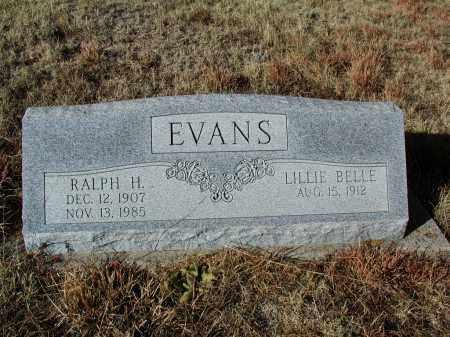 EVANS, RALPH H. - El Paso County, Colorado   RALPH H. EVANS - Colorado Gravestone Photos