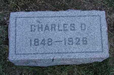 FORD, CHARLES D. - El Paso County, Colorado   CHARLES D. FORD - Colorado Gravestone Photos