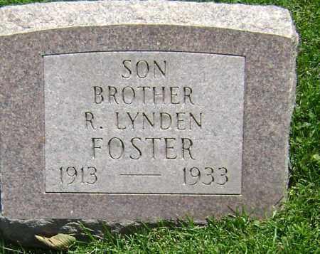 FOSTER, R. LYNDEN - El Paso County, Colorado | R. LYNDEN FOSTER - Colorado Gravestone Photos
