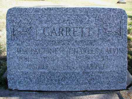GARRETT, IDA P. - El Paso County, Colorado | IDA P. GARRETT - Colorado Gravestone Photos