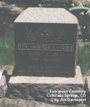 GARRETT, EMMA K. - El Paso County, Colorado   EMMA K. GARRETT - Colorado Gravestone Photos