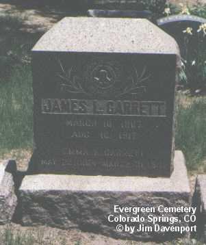 GARRETT, JAMES L. - El Paso County, Colorado | JAMES L. GARRETT - Colorado Gravestone Photos