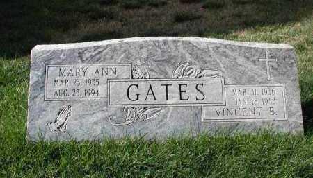 GATES, MARY A. - El Paso County, Colorado   MARY A. GATES - Colorado Gravestone Photos