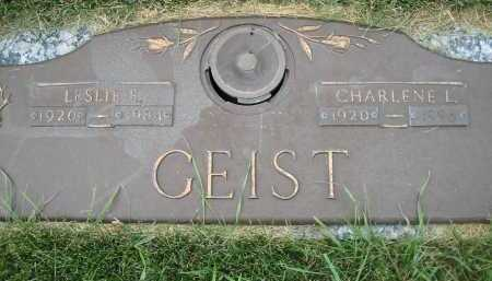 GEIST, LESLIE E. - El Paso County, Colorado | LESLIE E. GEIST - Colorado Gravestone Photos