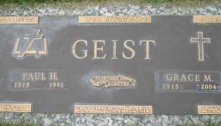 GEIST, GRACE M. - El Paso County, Colorado | GRACE M. GEIST - Colorado Gravestone Photos