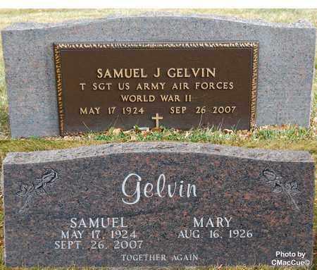 GELVIN, SAMUEL J. - El Paso County, Colorado | SAMUEL J. GELVIN - Colorado Gravestone Photos