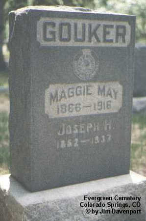 GOUKER, MAGGIE MAY - El Paso County, Colorado | MAGGIE MAY GOUKER - Colorado Gravestone Photos