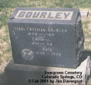 GOURLEY, HENRY FREEMAN - El Paso County, Colorado | HENRY FREEMAN GOURLEY - Colorado Gravestone Photos