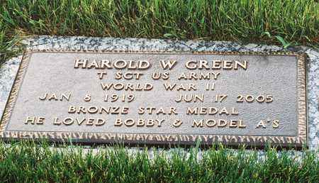 GREEN, HAROLD W - El Paso County, Colorado | HAROLD W GREEN - Colorado Gravestone Photos