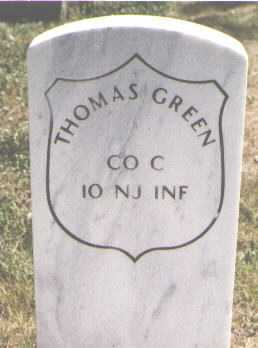GREEN, THOMAS - El Paso County, Colorado | THOMAS GREEN - Colorado Gravestone Photos