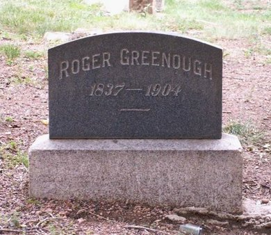 GREENOUGH, ROGER - El Paso County, Colorado | ROGER GREENOUGH - Colorado Gravestone Photos