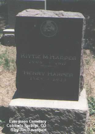 HARPER, KITTY M. - El Paso County, Colorado   KITTY M. HARPER - Colorado Gravestone Photos