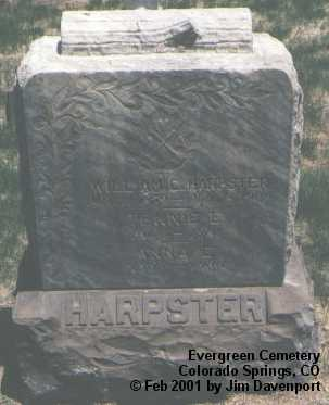 HARPSTER, ANNA E. - El Paso County, Colorado | ANNA E. HARPSTER - Colorado Gravestone Photos