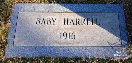 HARRELL, BABY - El Paso County, Colorado | BABY HARRELL - Colorado Gravestone Photos