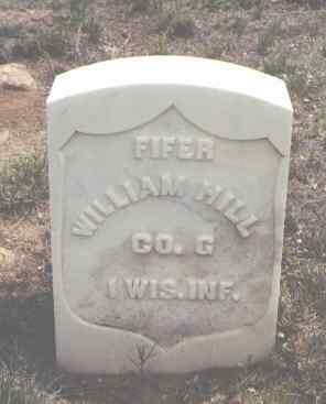 HILL, WILLIAM - El Paso County, Colorado | WILLIAM HILL - Colorado Gravestone Photos