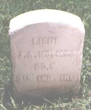HOLMES, J. A. - El Paso County, Colorado | J. A. HOLMES - Colorado Gravestone Photos