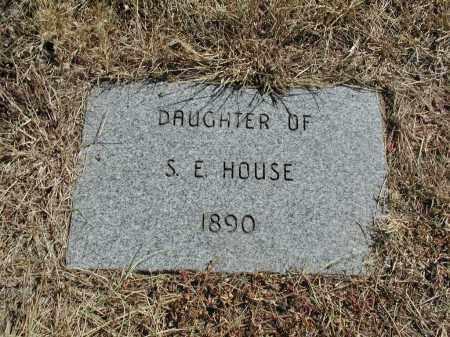 HOUSE, DAUGHTER - El Paso County, Colorado   DAUGHTER HOUSE - Colorado Gravestone Photos