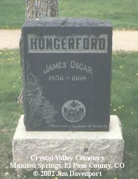 HUNGERFORD, JAMES OSCAR - El Paso County, Colorado | JAMES OSCAR HUNGERFORD - Colorado Gravestone Photos