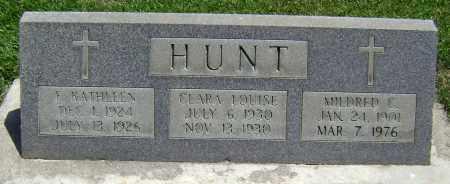 HUNT, CLARA LOUISE - El Paso County, Colorado | CLARA LOUISE HUNT - Colorado Gravestone Photos
