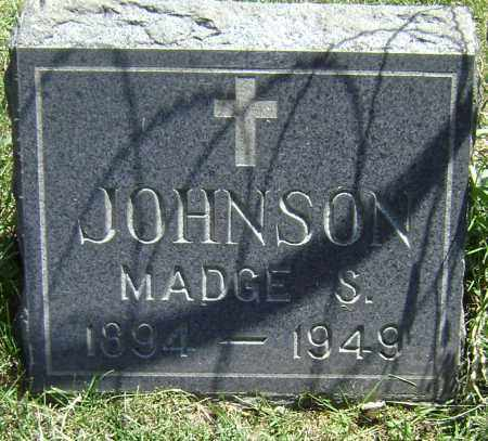 JOHNSON, MADGE S - El Paso County, Colorado | MADGE S JOHNSON - Colorado Gravestone Photos