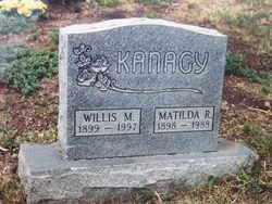 UMBLE KANAGY, MATILDA R. - El Paso County, Colorado   MATILDA R. UMBLE KANAGY - Colorado Gravestone Photos